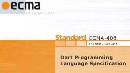 ECMA hat Dart offiziell standardisiert.