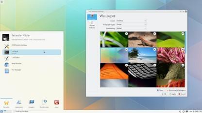 Noch fehlen dem neuen Plasma-Desktop Anwendungen mit aktueller Technik.