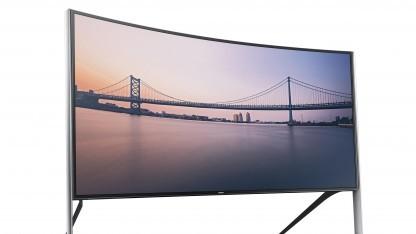 Das Luxusgerät Samsung UHD TV UE105S9W Timeless wurde nicht getestet.