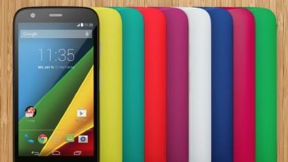 Das Moto G kommt bald als LTE-Version nach Deutschland.