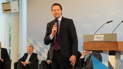 CSU-Generalsekretär Andreas Scheuer bei der Mediennacht