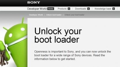Sony hat sein Webangebot zur Entsperrung des Bootloaders vereinfacht.