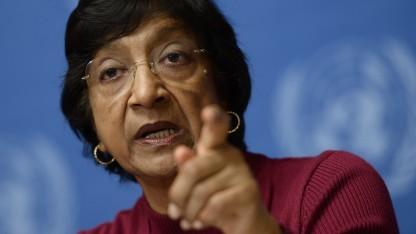 UN-Hochkommissarin Navi Pillay