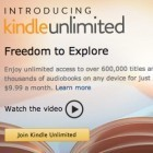Amazon Kindle Unlimited: Bücherflatrate für 9,99 US-Dollar im Monat