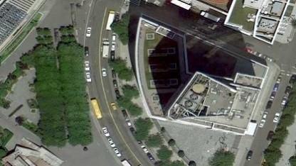 Googles Satellitenbilder werden in hoher Auflösung bereitgestellt.