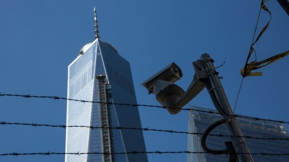 Überwachungskamera am Ground Zero in New York