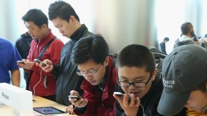 Das Smartphone hat den PC in China als Internetzugang überholt.