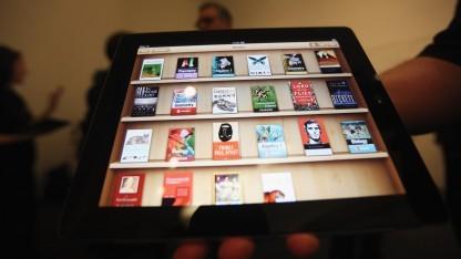 Apples iBook-Store auf einem iPad