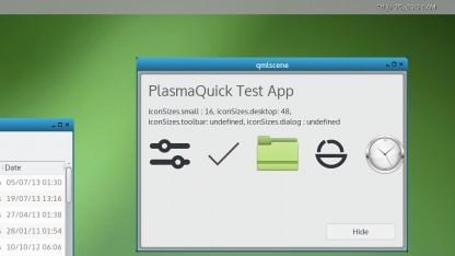 Unter Weston lassen sich bereits einige KDE Anwendungen benutzen.