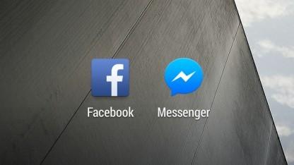 Die Facebook-App und der Facebook-Messenger