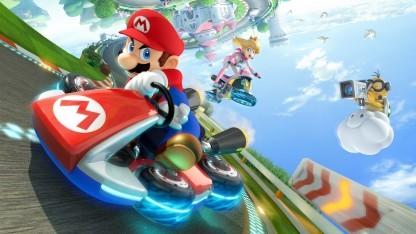 Artwork von Mario Kart 8