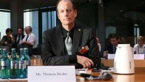 Der ehemalige NSA-Mitarbeiter Thomas Drake  im NSA-Untersuchungsausschuss des deutschen Bundestags