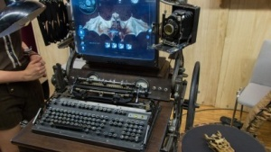 Steampunk-Computer auf der Maker Faire: High Tech von heute trifft auf High Tech des 19. Jahrhundert