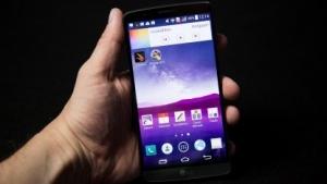 Das LG G3 mit seinem hochauflösenden Display
