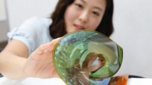 Das flexible OLED-Panel