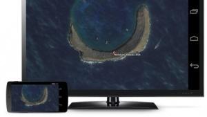 Dank eines Updates kann der komplette Bildschirminhalt eines Android-Gerätes über den Chromecast gespiegelt werden.
