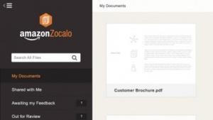 Amazon bietet mit Zocalo einen neuen Speicherdienst.
