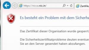 Nach dem Update sperrt Windows die betroffene Zertifizierungsstelle.