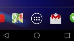 Android L mit neu gestalteten Navigationstasten