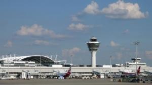Vorfeld Terminal 1  Flughafen München