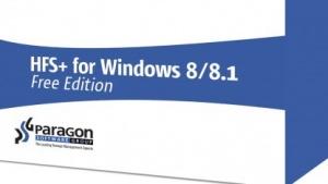 Paragon HFS+ für Windows 8/8.1