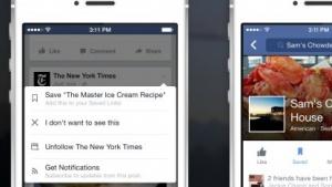 Facebook macht Geschichten langfristig sichtbar.