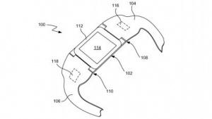 So stellt sich Apple seine Smartwatch in der Patentschrift vor.