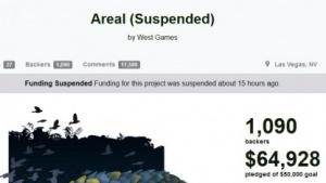 Kickstarter hat die Kampagne des Shooter-Projekts Areal vorerst eingefroren.