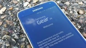 Das soll der Gear VR Setup Wizard von Samsung sein.