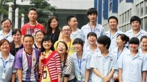 Die frisch gewählte Arbeitervertretung Guohongs