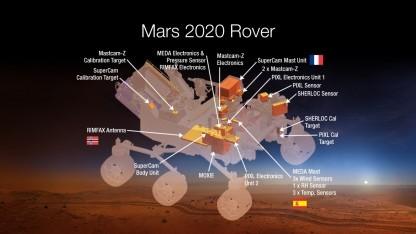 Mars 2020: Rover aus Ersatzteilen