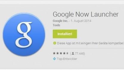 Der Google Now Launcher ist jetzt mit mehr Android-Geräten kompatibel.