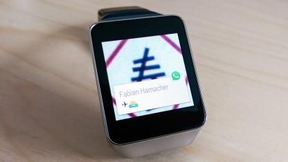 Auf Android-Wear-Smartwatches können jetzt Whatsapp und der Facebook-Messenger verwendet werden.