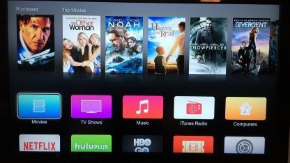 Apples neue Oberfläche für Apple TV
