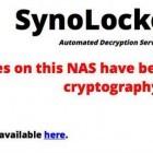Security: Ransomware übernimmt NAS von Synology
