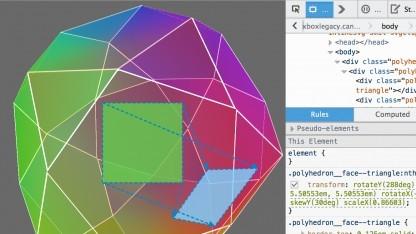 Firefox 33 erlaubt auch das Debuggen von CSS-Animationen und Objekt-Transformationen.