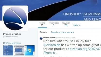 Unter einem Twitter-Profil veröffentlichen Unbekannte neue Dokumente zu Finfisher.
