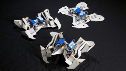 Dieser Roboter hat sich selbst gefaltet.