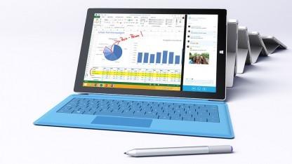 Das Surface Pro 3 kostet in der günstigsten Variante 800 Euro.