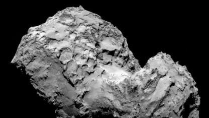 Endlich da: Komet Tschurjumow-Gerassimenko kurz vor der Ankunft der Sonde Rosetta