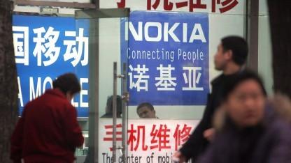 Nokia entlässt in Peking 4.700 Fabrikarbeiter.