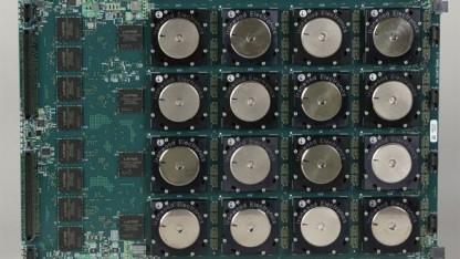 Der neue IBM-Chip soll Rechenprobleme ähnlich wie das menschliche Gehirn lösen.