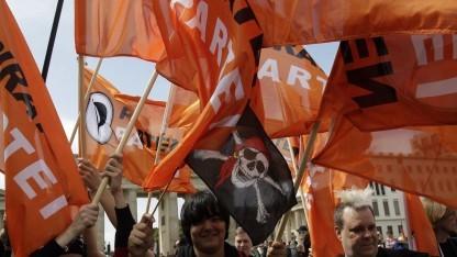 Mitglieder der Piratenpartei (2009 in Berlin): sinnfreie Diskussion um Abspaltung