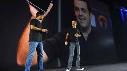 Lei Jun und Hugo Barra: Xiaomi spioniert seine Nutzer nicht aus.