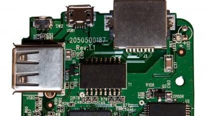 Auf einem solchen mobilen Router lässt sich Portal mit integriertem Tor nutzen.