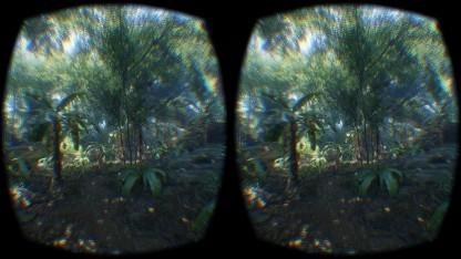 Die Cryengine-Demo für das Oculus Rift DK2 nutzt eine Map, die der Crysis-Präsentation auf der GDC 2006 ähnelt.