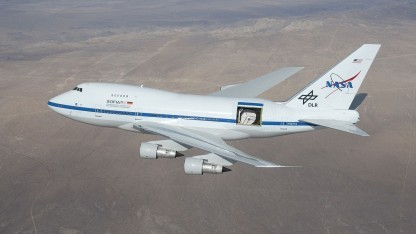 Forschungsflieger Sofia: noch 20 Jahre fliegen