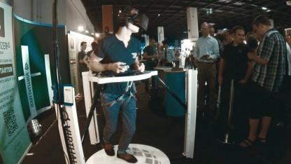 Golem.de-Redakteur Marc Sauter im Virtualizer