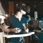 Cyberith Virtualizer ausprobiert: Virtuelles Laufen ist anstrengend
