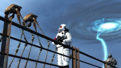 Half-Life 2 läuft per Steam VR auf dem DK2.
